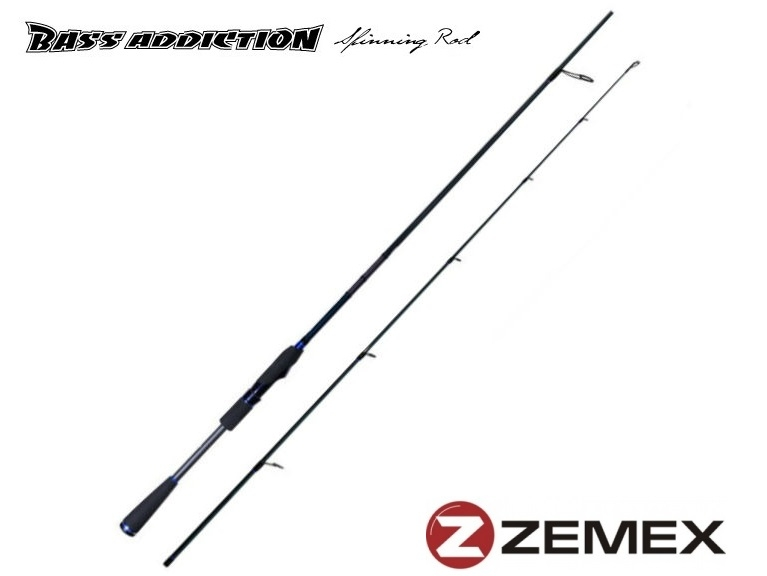 Zemex Bass Addiction Spinning Rod