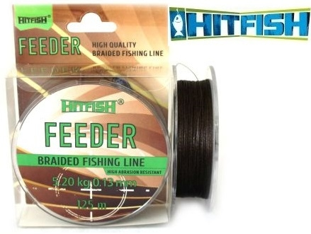 HitFish Feeder Braid X4 PE 150m Brown