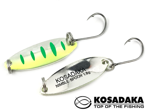 Kosadaka Trout Police Nimble Spoon 27mm 1.8gr