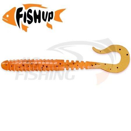 """Купить Мягкие приманки FishUp Vipo 3.6"""" #049 Orange Pumpkin/Black в Москве недорого"""